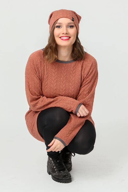 Solla Kjóll - Orange Kaðlar