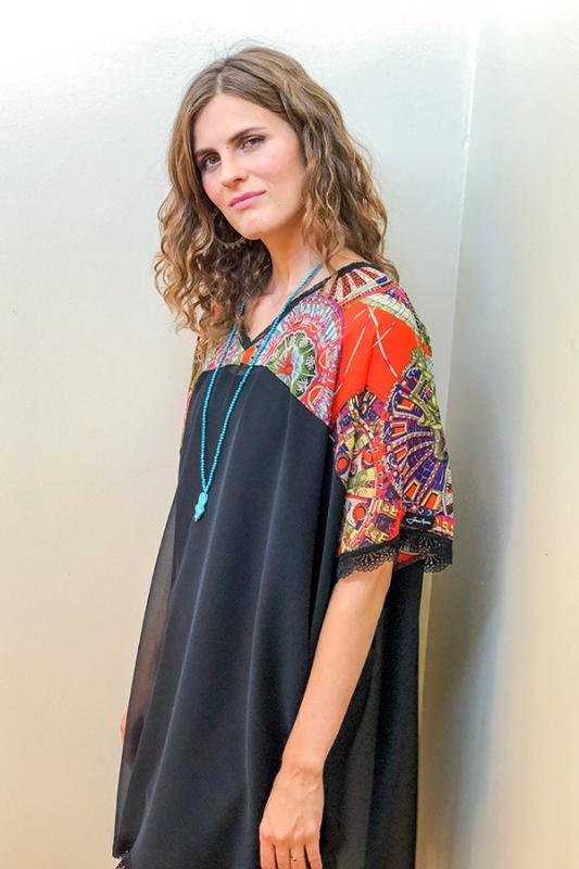 Jenný Kjóll - Afrikan Chiffon