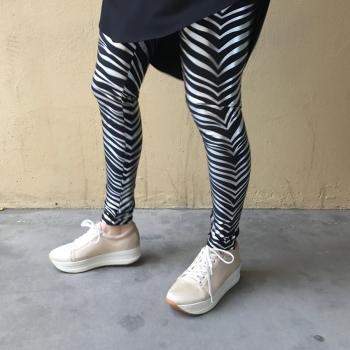 Kara Leggings - Silfur Rendur image