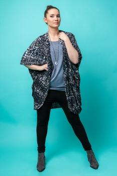 Sissa Peysa - Grey Bricks Flauel image