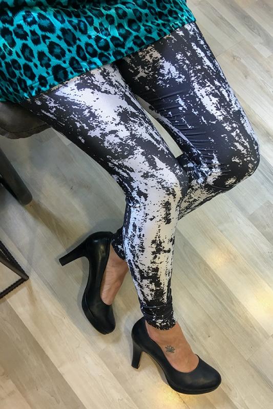 Kara Leggings - Spraypaint