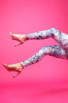 Kara Leggings - Tíglar image