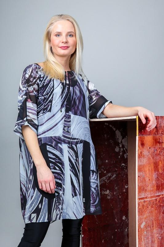 Klara Kjóll - Þrumur Chiffon