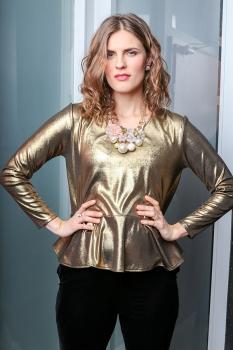 Kara Tyler Toppur - Dark Gold image