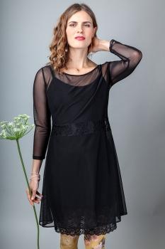Katrín Sif Kjóll - Svartur image