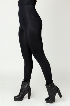 Leggings Basic - Svartar Matt image