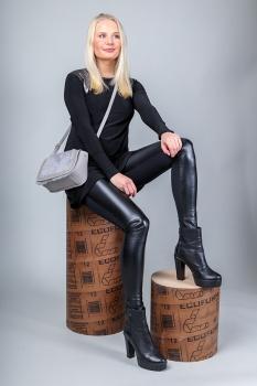 Leggings leðurlíki - Basic image